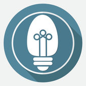 Icon of Light bulb — Stock Vector