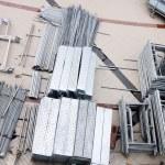 Part of Iron Scaffold — Stock Photo #53701353