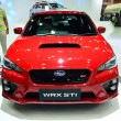 ������, ������: NONTHABURI DECEMBER 1: Subaru WRX STI car display at Thailand