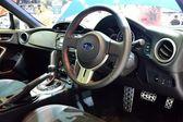 NONTHABURI - DECEMBER 1: Interior design of Subaru BRZ 2.0 car d — Stock Photo