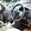 Постер, плакат: NONTHABURI DECEMBER 1: Interior design of Isuzu mu X SUV car d