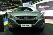NONTHABURI - DECEMBER 1: Hyundai Tucson SUV car display at Thail — Stock Photo