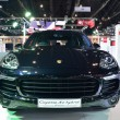 Постер, плакат: NONTHABURI DECEMBER 1: Porsche Cayenne S e Hybrid car display