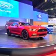 Постер, плакат: NONTHABURI DECEMBER 1: Ford Mustang 2 3L ecoboost car display
