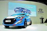 BANGKOK - March 26 : Hyundai Elantra Sport edition on DisPlay at — Stock Photo