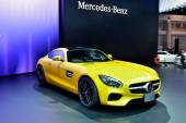 BANGKOK - March 26 : Mercedes Benz AMG-GTS on DisPlay at 36th Ba — Foto de Stock