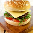 Hamburger with cheese — Stock Photo #53514743