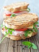 Grilled sandwiches — Stock Photo