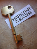 Knowledge is success — Stock Photo