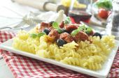 Italian pasta dish — Stock Photo