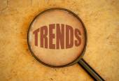 Trends word — Stock Photo