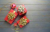 De giften van kerstmis — Stockfoto