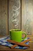Steaming hot chocolate — Stock Photo