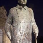 Sir Winston Churchill Statue in Paris — Stock Photo #52131399
