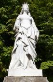 Statue of Valentina Visconti in Paris — Stock Photo