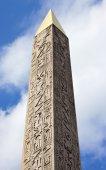 Obelisk at Place de la Concorde, Paris — Stock Photo