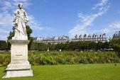 Jardin des Tuileries in Paris — Stock Photo