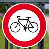 Ingen cykling — Stockfoto