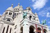 Sacre Coeur in Paris — Stock fotografie