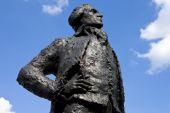Thomas Jefferson Statue in Paris — Stock Photo