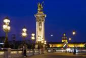 Blick auf Pont Alexandre Iii — Stockfoto