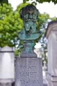 Grave of Edouard Manet in Passy Cemetery — Zdjęcie stockowe