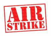 AIR STRIKE — Stock Photo