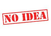 NO IDEA — Stock Photo