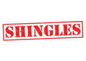 SHINGLES — Stock Photo
