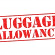 Постер, плакат: LUGGAGE ALLOWANCE