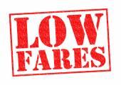 LOW FARES — Stock Photo