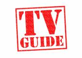 TV GUIDE — Stock Photo