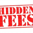 HIDDEN FEES — Stock Photo #53125977