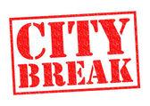 CITY BREAK — Stock Photo