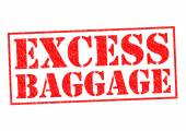 EXCESS BAGGAGE — Stock Photo