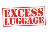 EXCESS LUGGAGE — Stock Photo