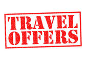 TRAVEL OFFERS — Stock Photo