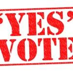 YES VOTE — Stock Photo #53986485