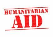 HUMANITARIAN AID — Stock Photo