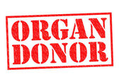 ORGAN DONOR — Stock Photo