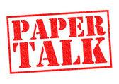 PAPER TALK — Stock Photo