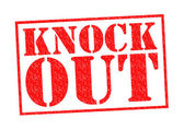 KNOCK OUT — Stock Photo