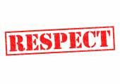 RESPECT — Stock Photo