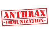 ANTHRAX IMMUNIZATION — Stock Photo