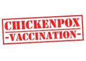CHICKENPOX VACCINATION — Zdjęcie stockowe