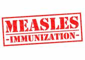 MEASLES IMMUNIZATION — Stock Photo