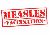 MEASLES VACCINATION — Stock Photo