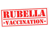 RUBELLA VACCINATION — Foto Stock