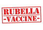 RUBELLA VACCINE — Stock Photo