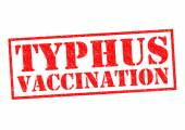 TYPHUS VACCINATION — Foto Stock
